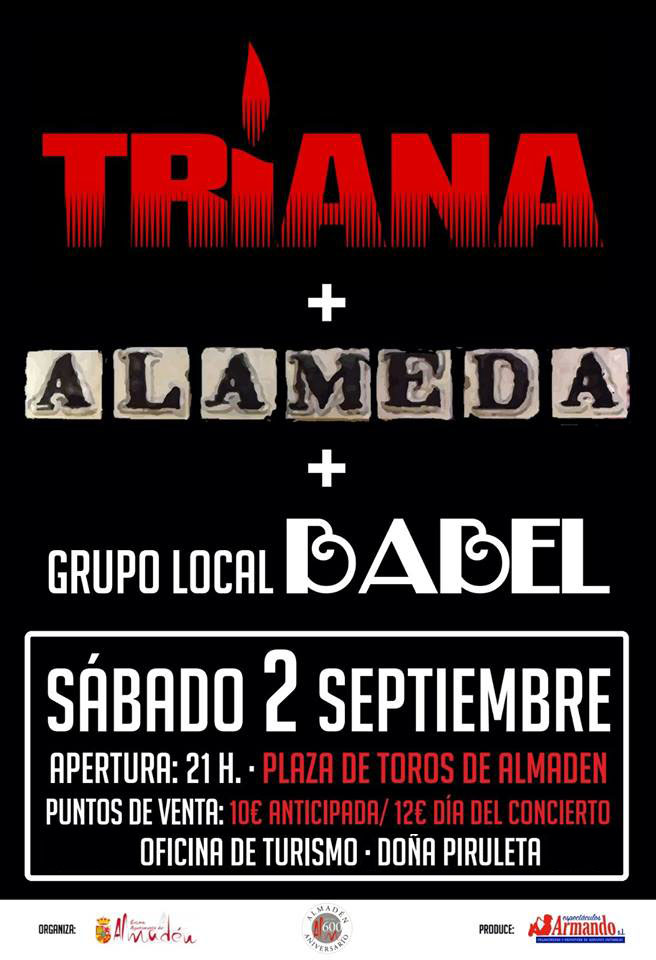 Concierto de Triana, Alameda y grupo local Babel