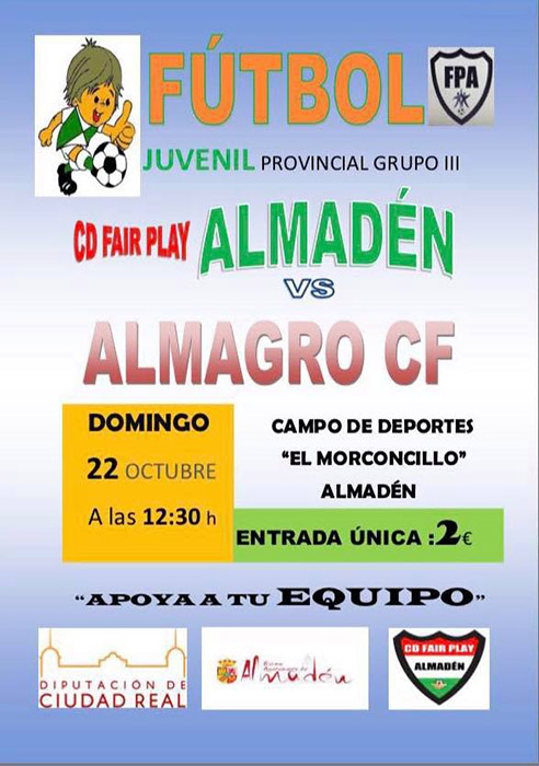 CD Fair Play Almadén Vs Almagro CF